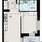 2 huoneen asunto 37 m² kaupungissa Helsinki