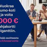 2 huoneen asunto 52 m² kaupungissa Lappeenranta