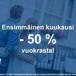 47 m² yksiö kaupungissa Espoo