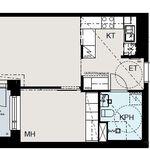 2 huoneen asunto 41 m² kaupungissa Helsinki