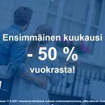 68 m² yksiö kaupungissa Espoo