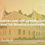 3 huoneen asunto 68 m² kaupungissa Jyväskylä