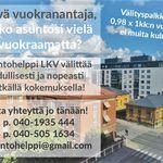 2 huoneen asunto 66 m² kaupungissa Turku