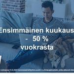 44 m² yksiö kaupungissa Vantaa
