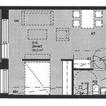 2 huoneen asunto 39 m² kaupungissa Pori
