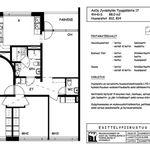 4 huoneen asunto 87 m² kaupungissa Jyväskylä