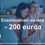 2 huoneen asunto 40 m² kaupungissa Vantaa