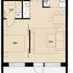 46 m² yksiö kaupungissa Espoo