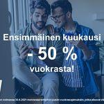 64 m² yksiö kaupungissa Helsinki