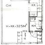 1 huoneen asunto 32 m² kaupungissa Rovaniemi