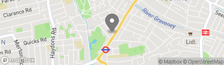 College Road, Colliers Wood, London