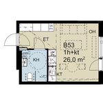 26 m² yksiö kaupungissa Espoo